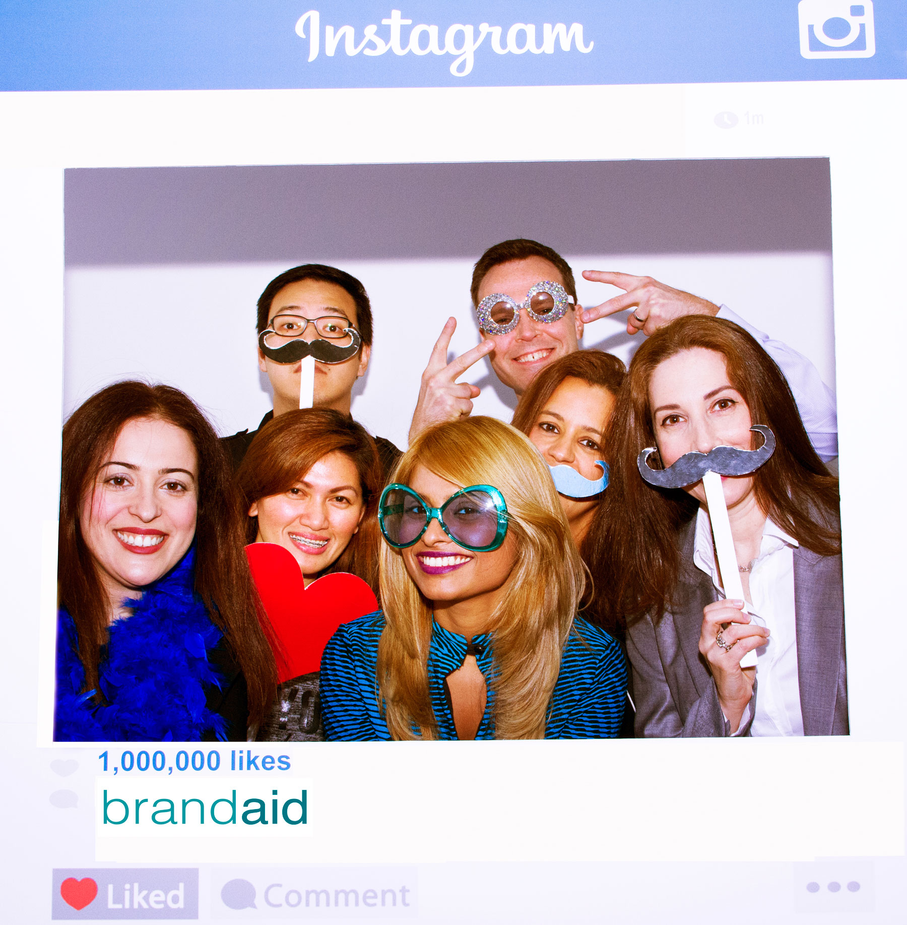 BrandAid social media for medical